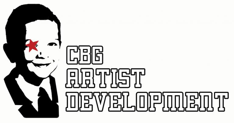 CBG ARTIST DEVELOPMENT LOGO